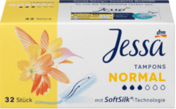 JESSA tampóny Normal, 32 ks