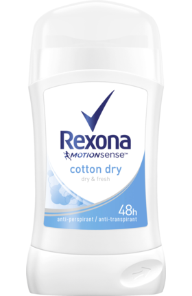 REXONA deo stick Cotton Dry, 40 ml