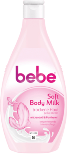 BEBE YOUNG CARE tělové mléko Body Milk Soft, 400 ml