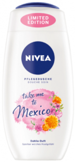 NIVEA sprchový gel Take me to Mexico, 250 ml