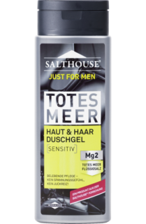 SALTHOUSE sprchový gel Men Totes Meer Sensitiv, 250 ml