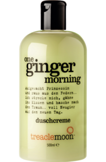 TREACLEMOON sprchový gel one ginger morning, 500 ml
