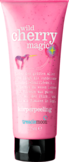 TREACLEMOON sprchový gel a peeling wild cherry love, 225 ml