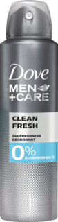 DOVE MEN +CARE deo sprej Clean Fresh, 150 ml