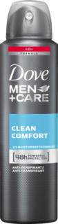 DOVE MEN +CARE deo sprej Care Clean Comfort, 150 ml