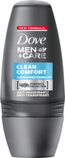 DOVE MEN +CARE roll on Care Clean Comfort, 50 ml