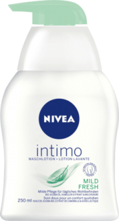 NIVEA intimní mycí gel Intimo Natural Fresh, 250 ml