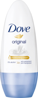 DOVE deo roll on Original, 50 ml