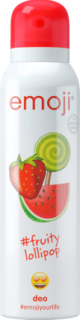 EMOJI deo sprej #fruitylollipop, 150 ml