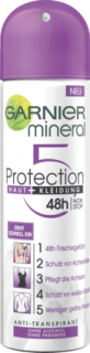 GARNIER deo sprej Mineral Protection 5, 150 ml