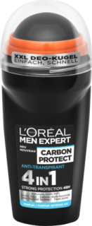 L'ORÉAL Men EXPERT deo roll on Carbon Protect, 50 ml