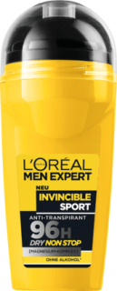 L'ORÉAL Men EXPERT deo roll on Invincible Sport, 50 ml