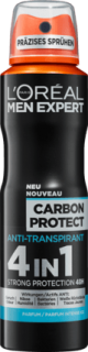 L'ORÉAL Men EXPERT deo sprej Carbon Protect 4in1, 150 ml