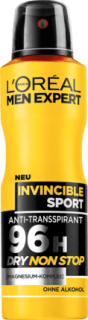 L'ORÉAL Men EXPERT deo sprej Invincible Sport, 150 ml