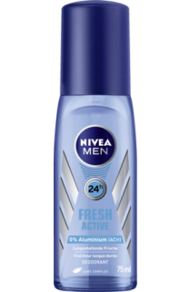 NIVEA MEN deo rozprašovač Fresh Active, 75 ml