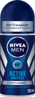 NIVEA MEN deo roll on Active Protect, 50 ml