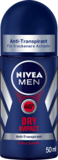 NVEA MEN deo roll on Dry Impact, 50 ml