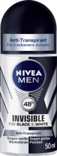 NIVEA MEN deo roll on Black & White Power, 50 ml