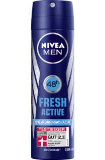 NIVEA MEN deo sprej Fresh Active, 150 ml