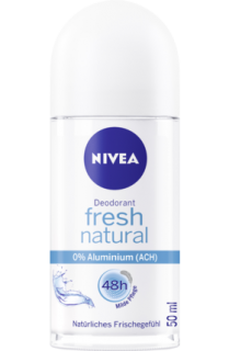 NIVEA deo roll on Fresh Natural, 50 ml