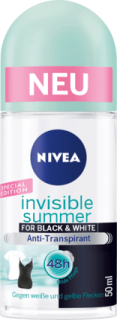 NIVEA deo roll on Invisible Summer, 50 ml