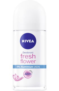 NIVEA deo roll on Fresh Flower, 50 ml