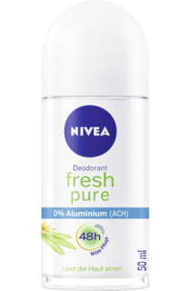 NIVEA deo roll on Pure Fresh, 50 ml
