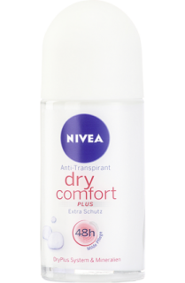 NIVEA deo roll on Dry Comfort, 50 ml