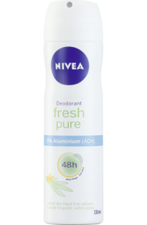 NIVEA deo sprej Fresh Pure, 150 ml