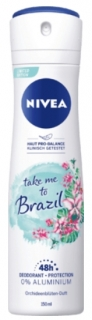 NIVEA deo sprej take me to Brazil, 150 ml ml