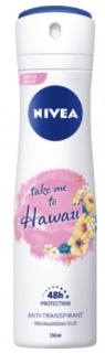 NIVEA deo sprej take me to Hawaii, 150 ml