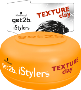 GOT2B stylingová pasta iStylers Texture clay, 75 ml