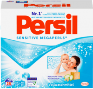 PERSIL prací prášek sensitive megaperls 25 PD