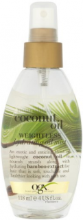 OGX olej Coconut Oil Hydrating Oil Mist 118 ml