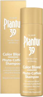 PLANTUR 39 šampon Phyto-Coffein Color Blond, 250 ml