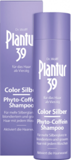 PLANTUR 39 šampon Phyto-Coffein Color Silber, 250 ml