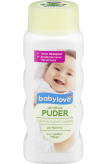 BABYLOVE Puder sensitive 100 g