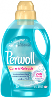 PERWOL prací gel Care & Refresh 1,5l ,20 PD