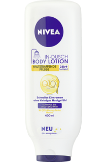 NIVEA tělové mléko do sprchy In-Dusch Body Lotion Q10, 400 ml