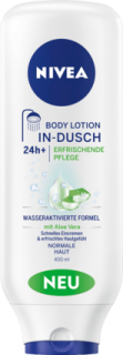 NIVEA tělové mléko do sprchy In-Dusch Body Lotion, 400 ml