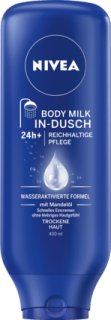 NIVEA tělové mléko do sprchy In-Dusch Body Milk, 400 ml