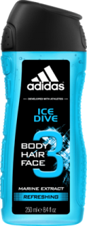 ADIDAS sprchový gel Men Ice Dive, 250 ml
