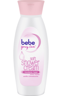 BEBE YOUNG CARE sprchový gel soft shower cream, 250 ml