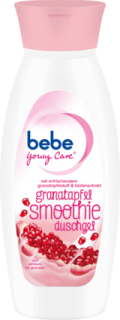 BEBE YOUNG CARE sprchový gel Granatapfel Smoothie, 250 ml