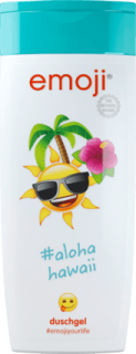 EMOJI sprchový gel alohahawaii, 250 ml