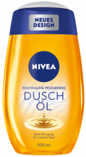 NIVEA sprchový olej Natural Oil, 200 ml